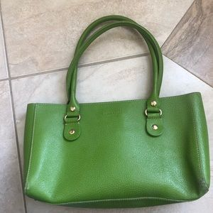 Kate Spade green leather purse